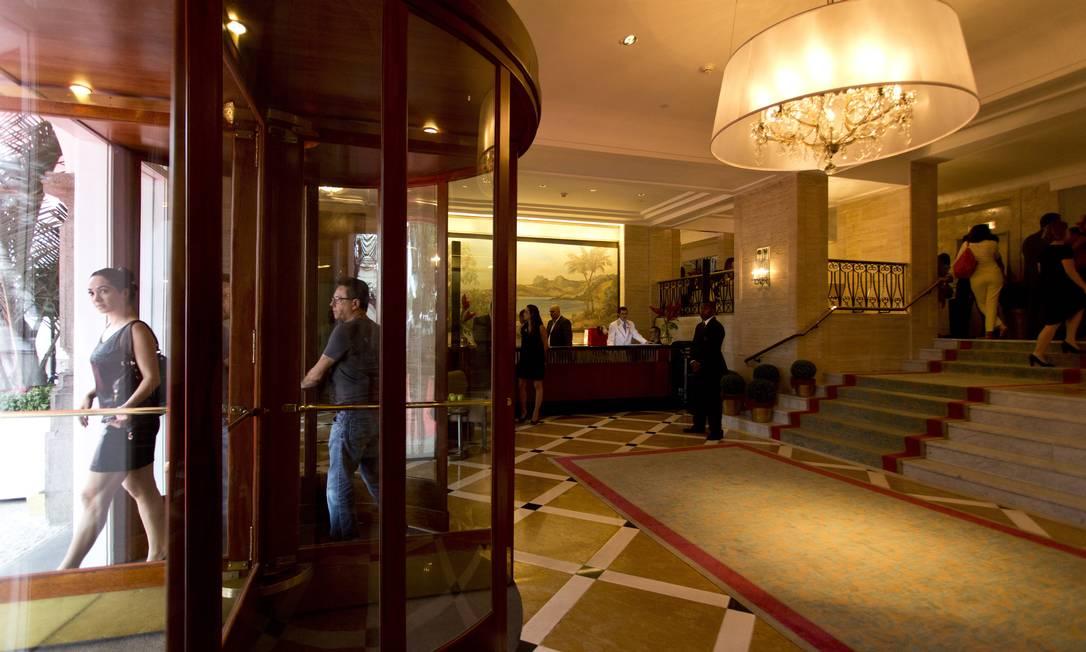 O lobby ganhou nesta semana um elevador para facilitar a locomoção de cadeirantes Jornal O Globo / Paula Giolito / O Globo