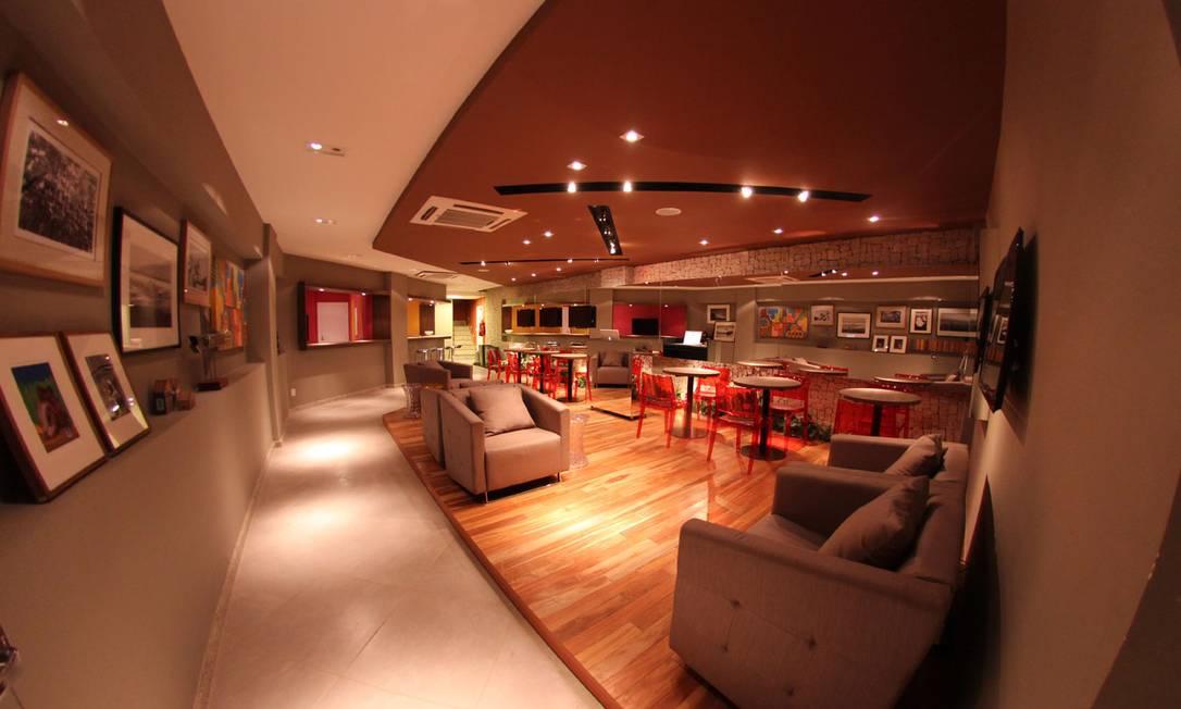 A decoração moderna é a marca em comum entre todos os ambientes Divulgação