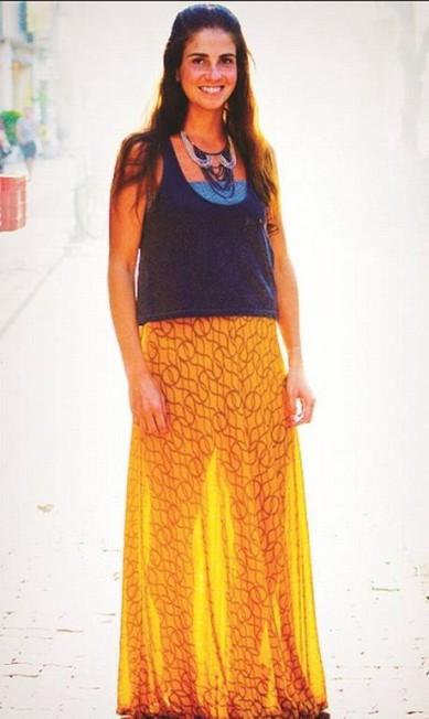 6) Saião longo. Na mesma vibe do vestido. Se tiver uma fenda, melhor Divulgação