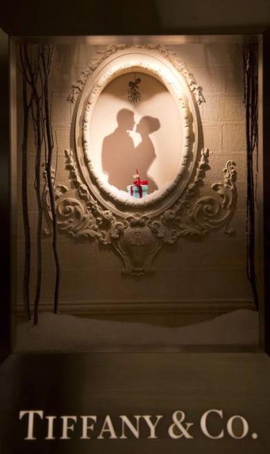 Detalhe da vitrine da Tiffany & Co. Freelancer / Paula Giolito / O Globo