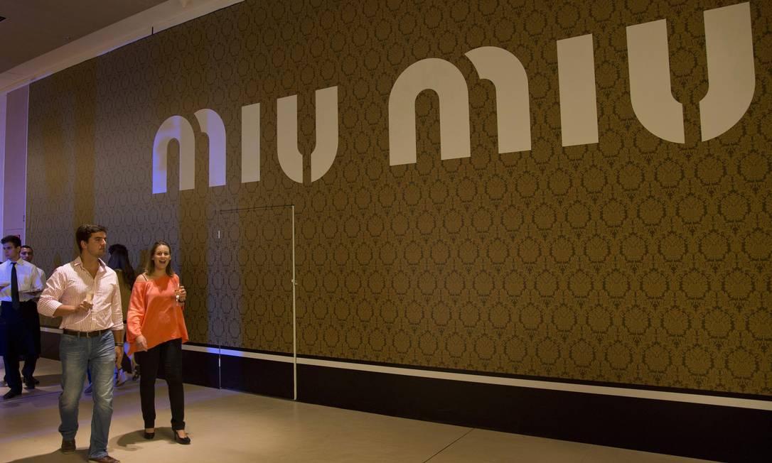 A Miu Miu ainda não tem previsão de abertura Freelancer / Paula Giolito / O Globo