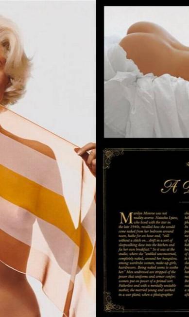 Além de Lawrence Schiller, a revista também traz imagens feitas por Roger Ebert e Morgan Kim Reprodução/ Playboy