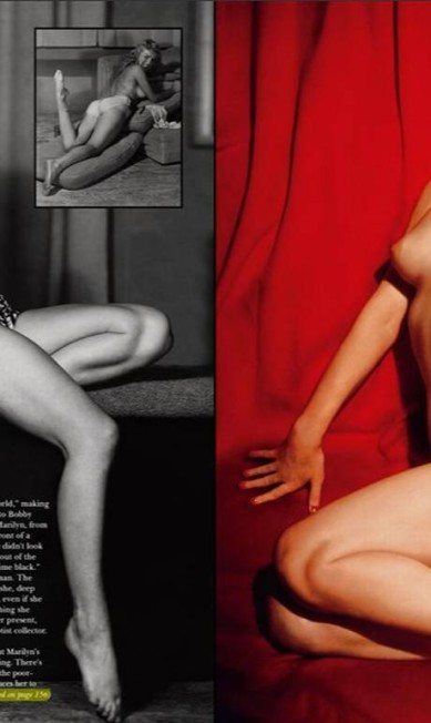 O ousado editorial reúne fotos raras da estrela - muitas dessas imagens foram feitas para a própria revista Reprodução/ Playboy