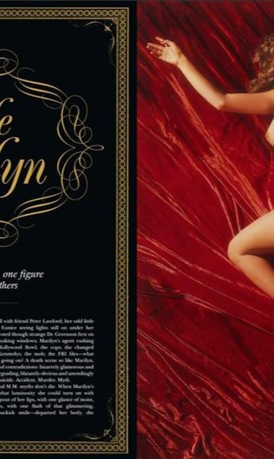 Mas também há imagens de outras publicações no ensaio Reprodução/ Playboy