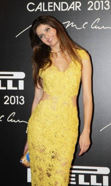 A modelo Isabeli Fontana foi uma das clicadas para o Calendário Pirelli 2013 Laura Marques / Laura Marques