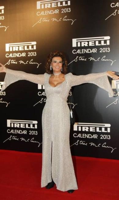 Sophia Loren posa para os fotógrafos Laura Marques / Laura Marques / Agência O Globo