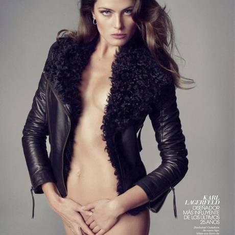 Isabeli Fontana faz fotos sexys para revista Foto: Reprodução