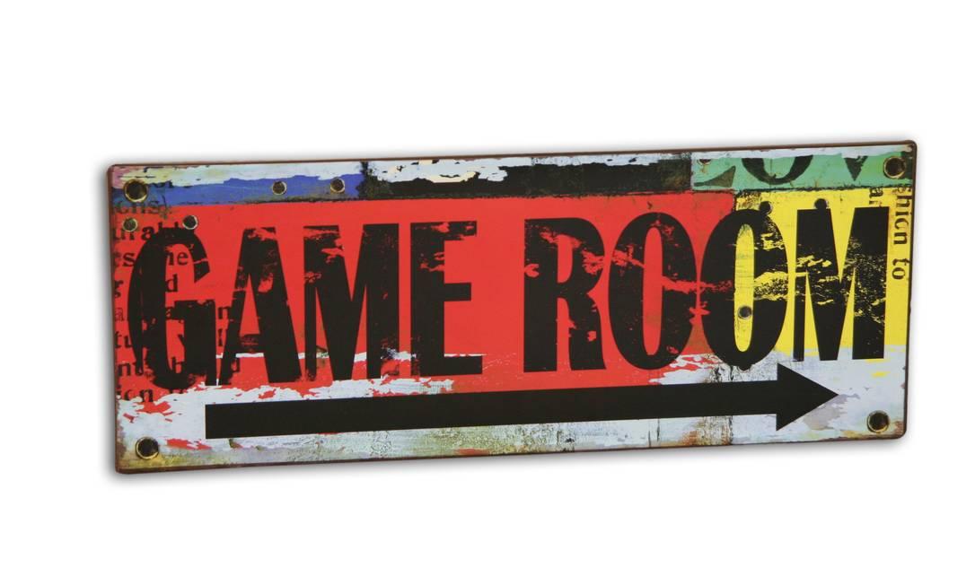 Placa decorativa, Gajah, R$ 44 Terceiro / Reprodução