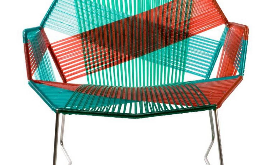 Cadeira Tropicália de Patricia Urquiola para Moroso. À venda na LZ Studio (21 3507-7554), R$ 5.489 Divulgação