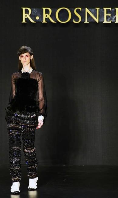 Clássica, elegante e sexy. Foi assim a apresentação de inverno 2013 do estilista R.Rosner Reinaldo Marques/free lancer / Reinaldo Marques / O Globo