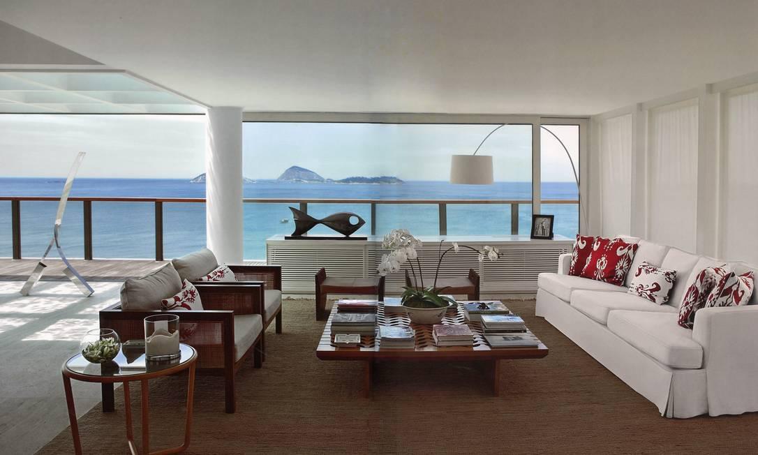 No coração de Ipanema, o apartamento tem o décor contemporâneo da arquiteta Lia Siqueira Terceiro / Divulgação