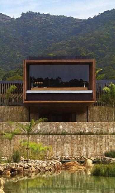 O projeto de Paulo Jacobsen de uma casa de campo com arquitetura ultracontemporânea Terceiro / Divulgação