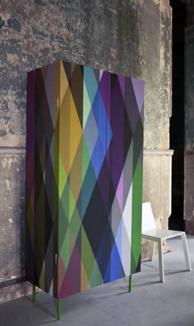 Papel de parede Geometric com 53 cm x 10,5 m na By Floor (21 2275-9649), R$ 740 (o rolo) Divulgação