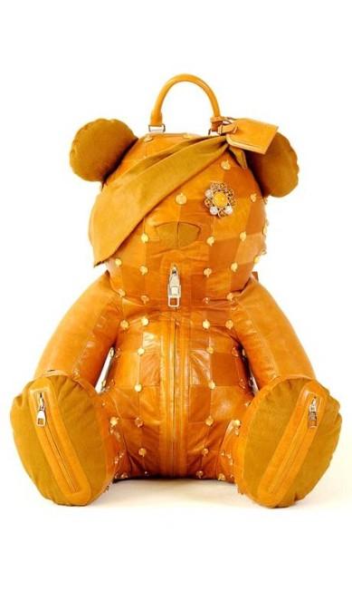 Todos os ursos serão leiloadas no dia 15 de novembro, e a renda será revertida para a caridade. Qual deve ser o lance mínimo para este modelo criado pela Louis Vuitton? Reprodução