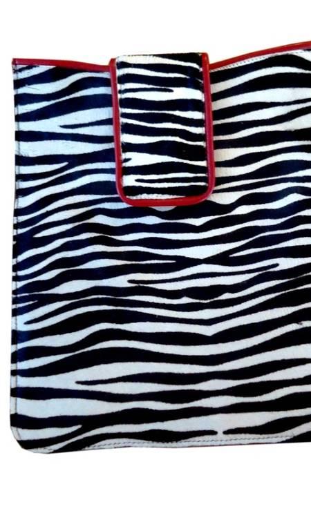 Capa iPad zebra da Zibba R$300 (www.zibba.com.br) Divulgação