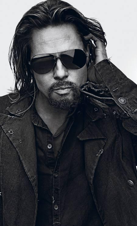 O ator está em um bom momento fashion. Além do ensaio, ele também é o muso do perfume Nº5 da Chanel Foto: Reprodução