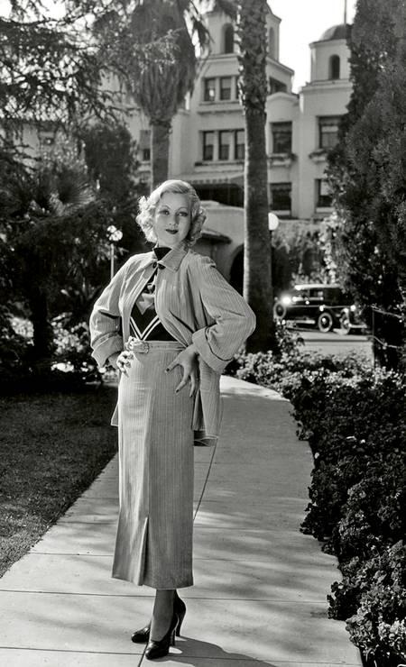 Ann Sothern era uma das frequentadoras Foto: Cortesia do