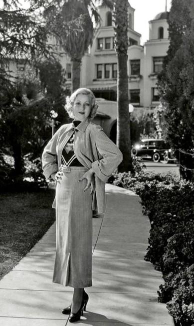 Ann Sothern era uma das frequentadoras Cortesia do