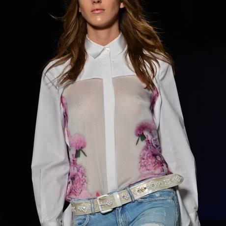 Just Cavalli, na Semana de Moda de Milão Verão 2013 Foto: GIUSEPPE CACACE / AFP