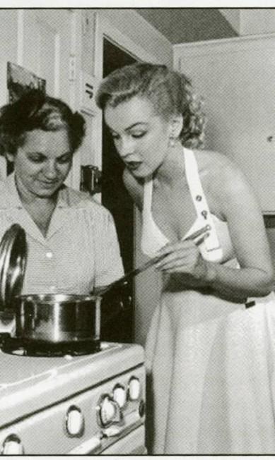Marylin Monroe: Atriz costumava se enfiar na cozinha quando tinha problemas com o marido, o dramataurgo Arthur Miller Terceiro / Reprodução