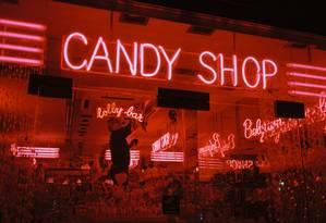 Vitrine de loja de doces no centro de Bruxelas, em 2011 Foto: Tinko Czetwertynski