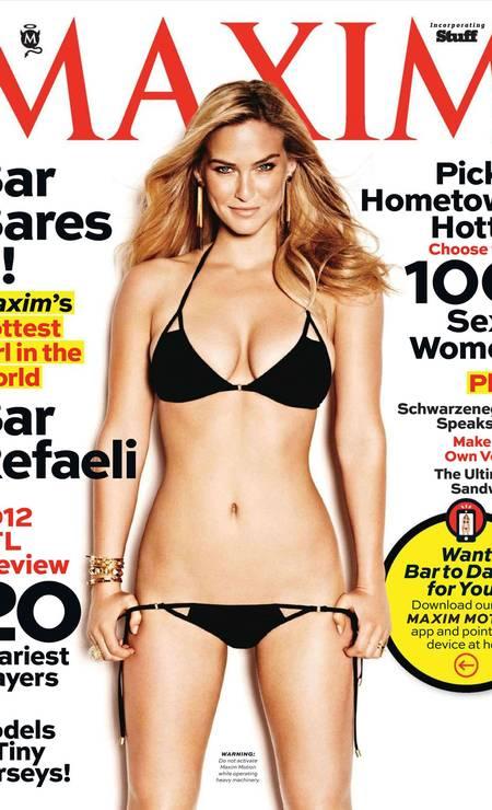 A modelo foi eleita a mulher mais sexy do mundo pela revista Maxim em 2012 Foto: Reprodução