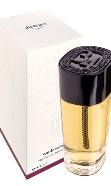 O mítico endereço 34 Boulveard Saint Germain, onde fica a marca de essências Diptyque, ganhou um perfume elogiadíssimo que angariou o 3º lugar. Não está à venda no Brasil. Reprodução