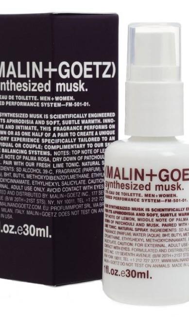O Synthesized Musk, da marca Malin + Goetz (que não existe no Brasil) nem parece um perfume se olharmos a embalagem. Mas suas notas de patchouli, limão e almíscar levaram o 8º lugar do The Independent Reprodução