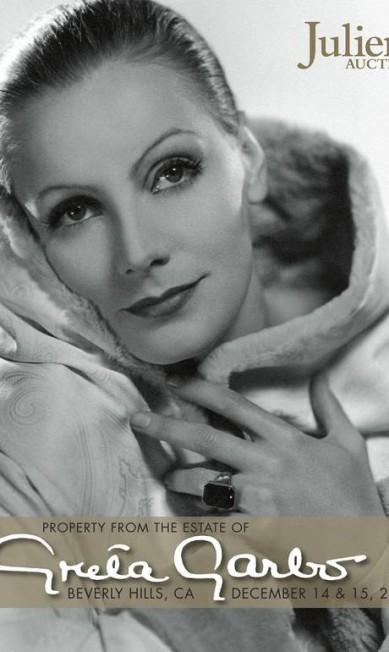 A casa de leilões Julien's Auctions anunciou que vai vender 853 objetos que pertenceram a atriz sueca Greta Garbo. O leilão acontecerá nos dias 14 e 15 de dezembro em Beverly Hills, na Califórnia, Estados Unidos. HANDOUT / REUTERS/ Julien's Auctions
