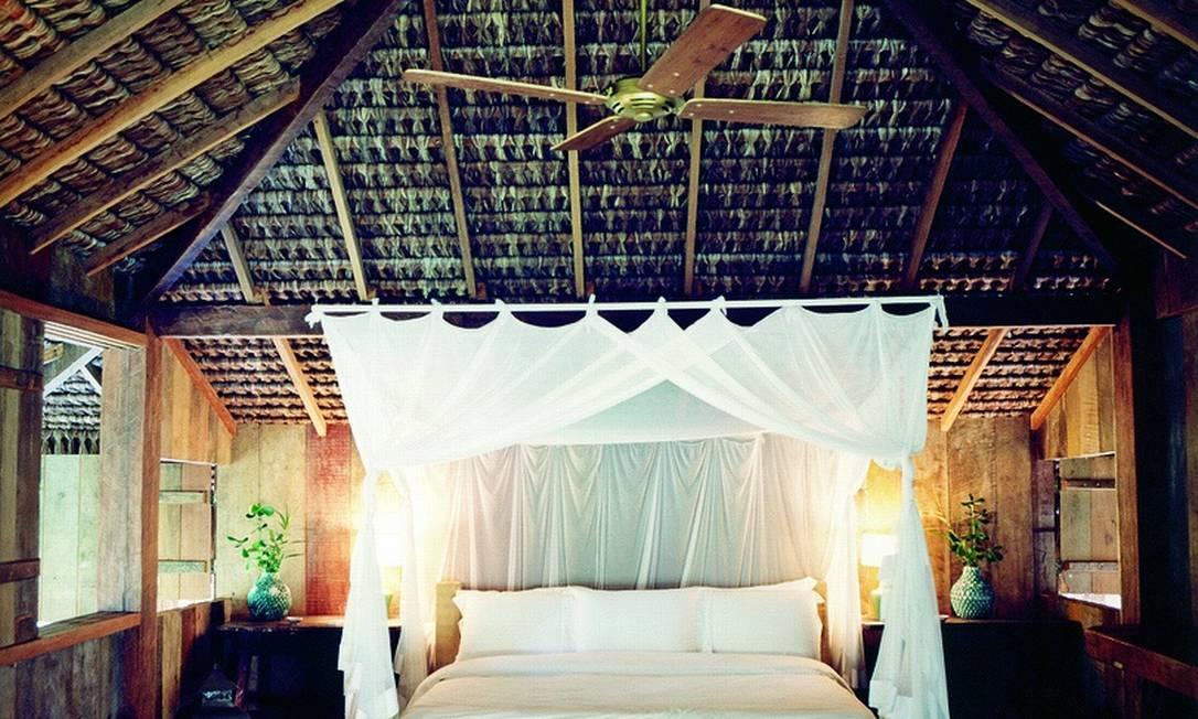 A ideia de Wilbert era criar um hotel que preservasse a identidade do local e, ao mesmo tempo, oferecesse um serviço de luxo Divulgação / Fernando Lombardi