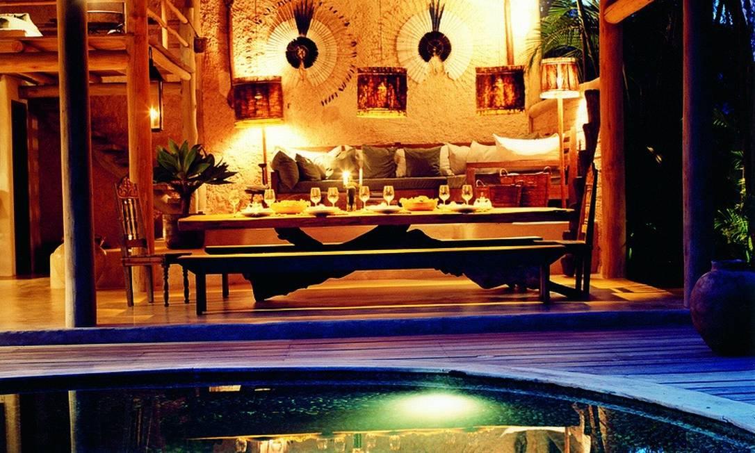 A paixão foi tanta que, em 2009, Wilbert abriu o Uxuá Casa Hotel Divulgação / Fernando Lombardi