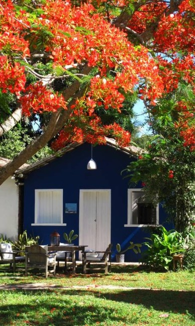 O Uxuá é composto por dez casas, cada uma com nome, tamanho e decoração diferente. Divulgação / Wilbert Das