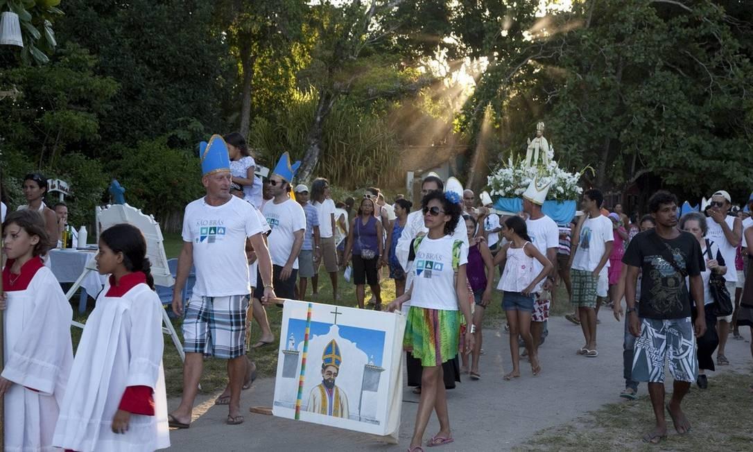 Wilbert Das em uma festa tradicional da cidade de Trancoso, na Bahia, onde se localiza o Uxuá Casa Hotel Divulgação