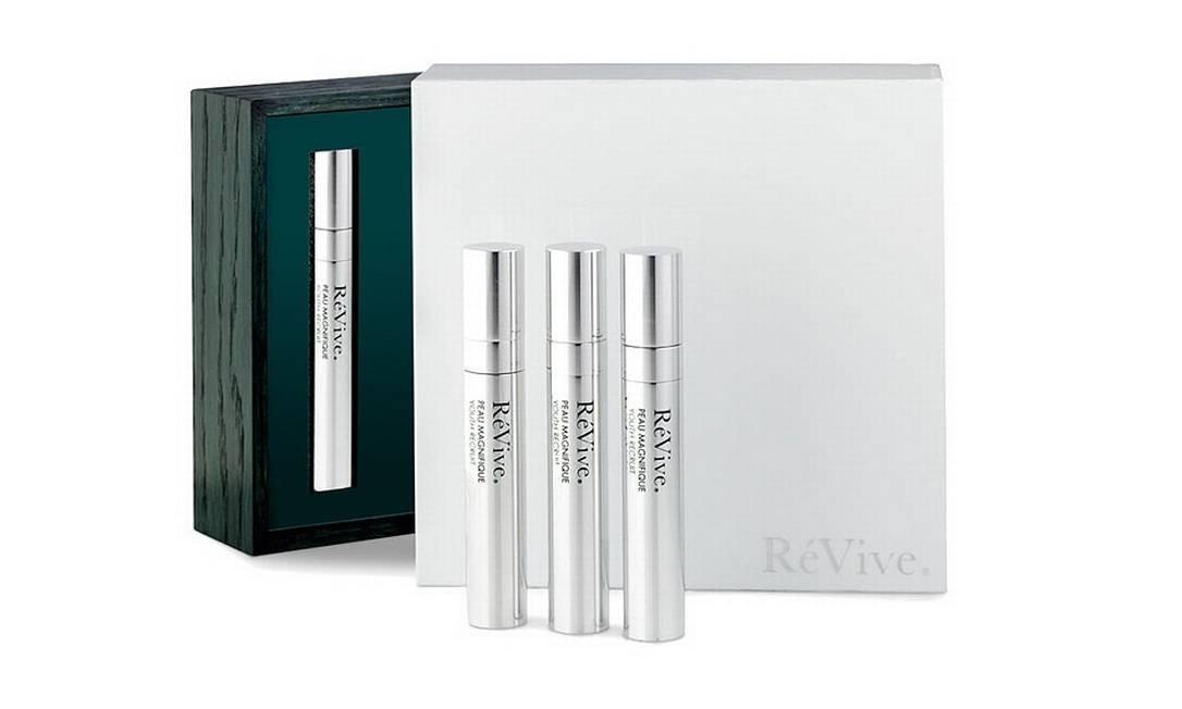 O creme Peau Magnifique da RéVive garante uma pele mais jovem por US$ 1,5 mil (R$ 3 mil) Reprodução / Neiman Marcus