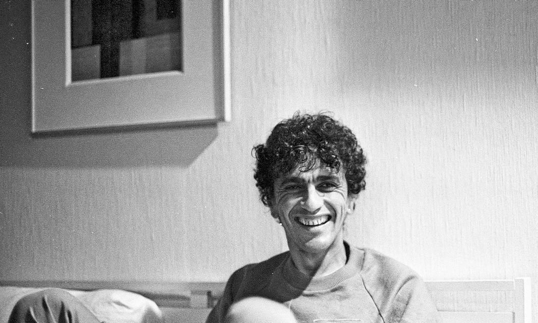 De Moletom em foto de 1984 Antônio Andrade / Antônio Andrade / Agência O Globo