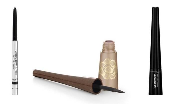 O delineador era um item de maquiagem indispensável na nécessaire da atriz. Diorshow Waterproof Liner da Dior R$ 174 (SAC: 0800 170506), Natura Aquarela R$ 21,90 (SAC: 0800 115 566) e Liner Express da Maybelline R$ 16,90 (SAC: 0800 701 0114) Divulgação