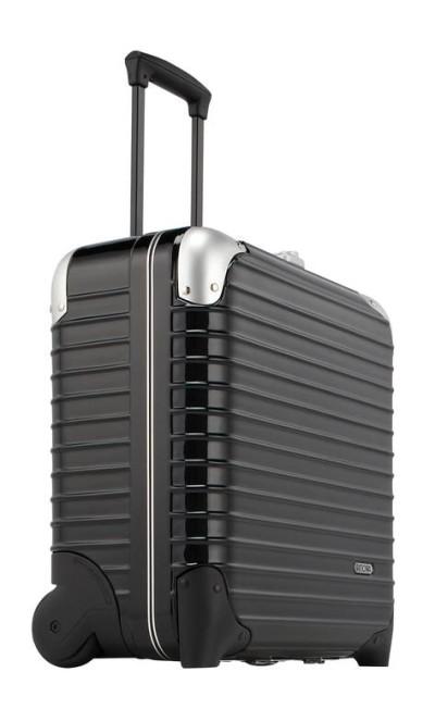 Para os viajantes: mala Business Trolley, da coleção Limbo da Rimowa R$ 1.500 (SAC: 0800 746 6920) Divulgação