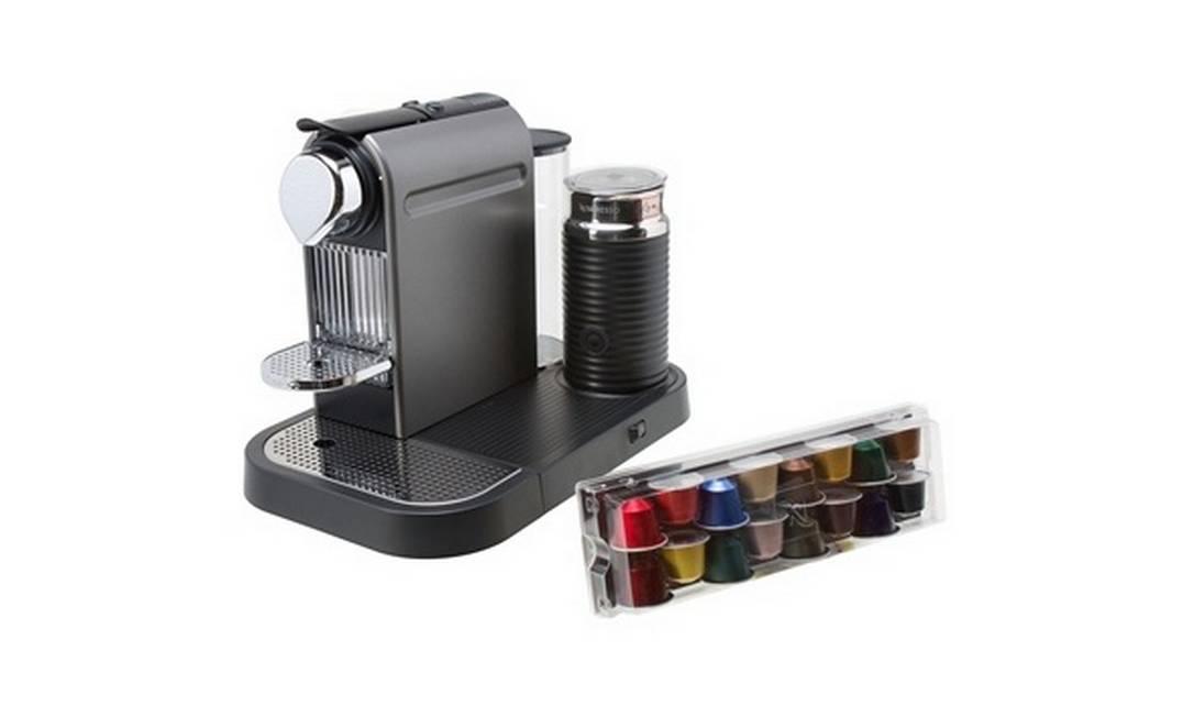 Para os fãs de café: Citiz&Milk Nespresso na Etna R$ 1.137,90 (www.etna.com.br) Dvulgação