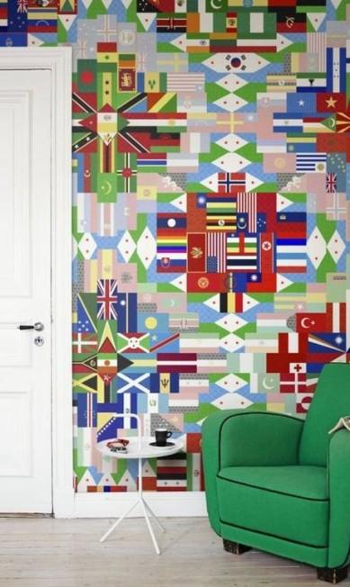 Papel de parede Mr Perswall Destinations da Orlean (21 2287-8999), R$ 3.688 Divulgação