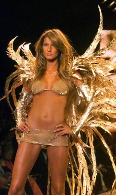 Gisele foi uma das angels mais populares da grife Victoria´s Secret Reuters