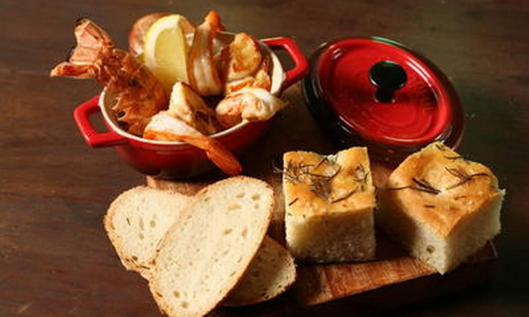 ... com a charmosa panelinha de frutos do mar: casal perfeito Divulgação/Alle Vidal
