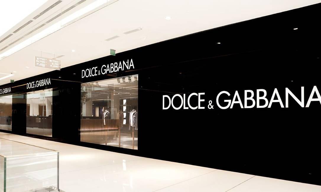 a499a810e7826 A primeira loja da grife italiana Dolce   Gabbana no país fica no shopping  JK Iguatemi