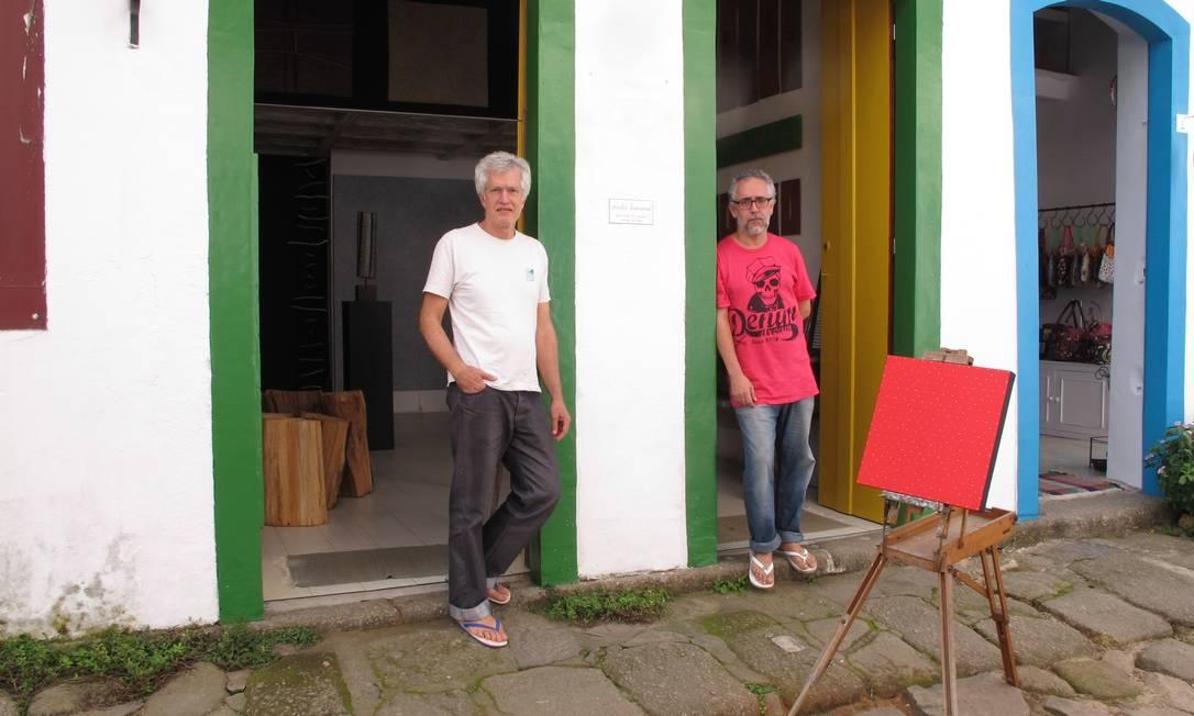 Studio Bananal é um ateliê charmoso dos artistas Fernando Fernandes e Sergio Atilano Lívia Breves