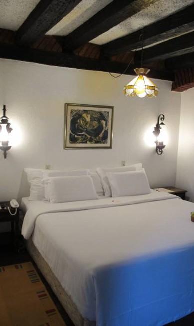 Quarto da Pousada Literária, que será o hotel oficial da Flip 2012 e passa por uma reforma Lívia Breves