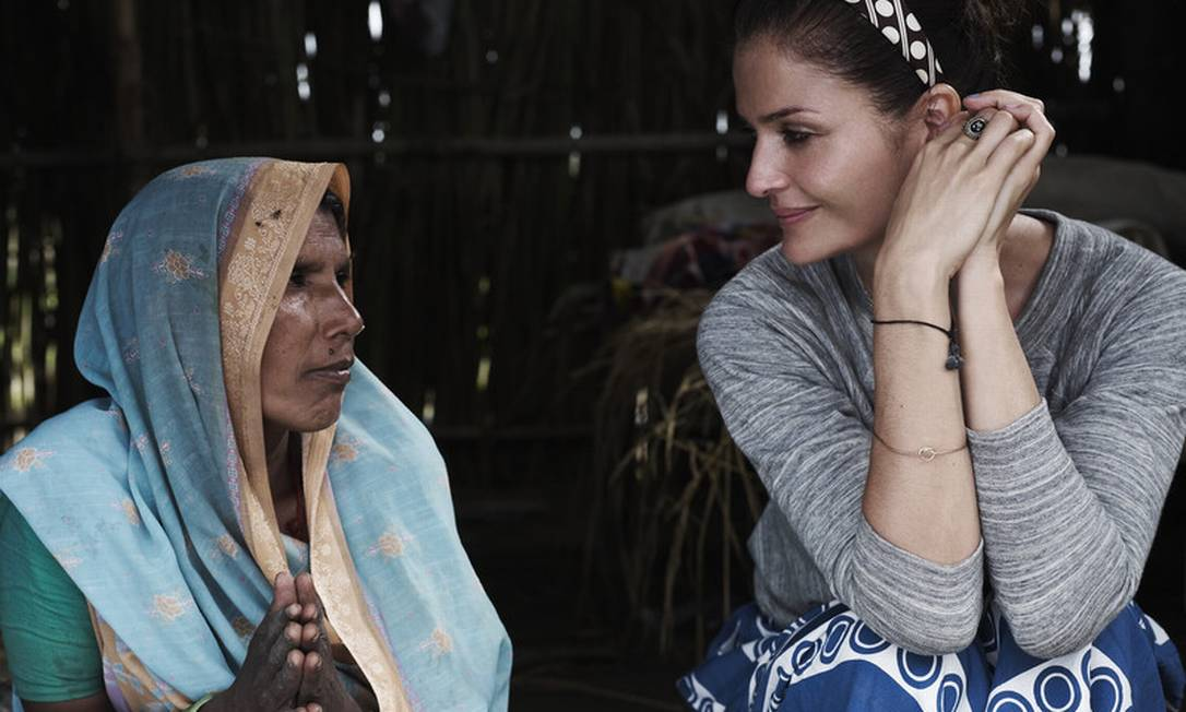 """""""É preciso de um fundo para ajudar financeiramente pessoas que sofrem com as mudanças drásticas de clima"""", diz Helena Philip Riches/Oxfam / Philip Riches/Oxfam"""