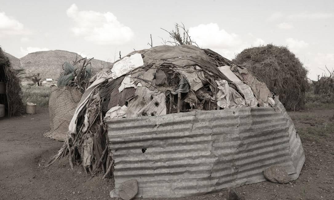 A casa onde Elisabeth mora com onze filhos Helena Christensen / Helena Christensen /Oxfam