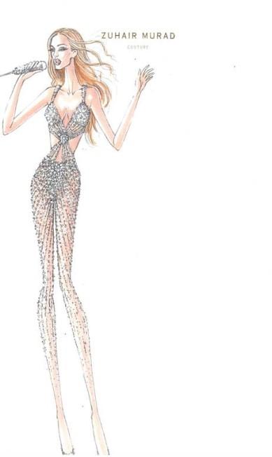 Jennifer Lopez divulgou os figurinos que usará na turnê latinoamericana, que passará pelo Brasil no fim do mês de junho e no começo de julho Divulgação