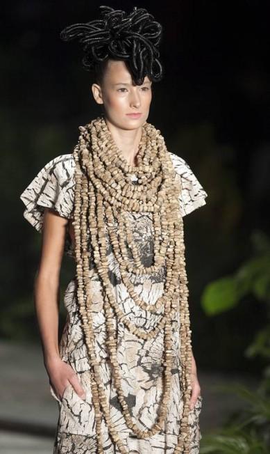 Os colares foram desenvolvidos em parceria com a Cooperativa de Biojoias de Tucumã Leonardo Soares/Agencia O Globo