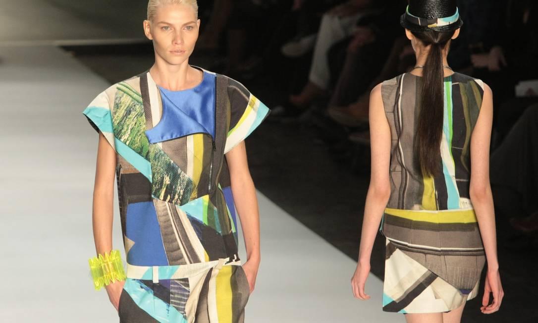 Triton apresentou coleção inspirada no Japão Marcos Alves/Agencia O Globo