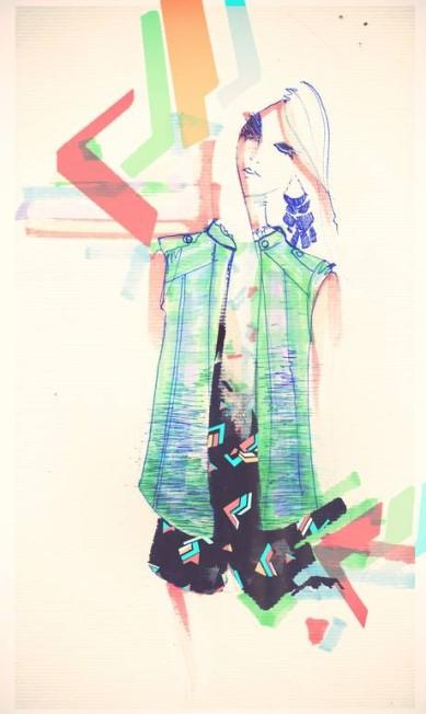 Juliana Jabour apresentará uma coleção jovem e estampada. Divulgação